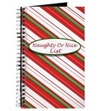 Naughty Or Nice List Journal
