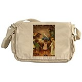 Nativity Scene Messenger Bag