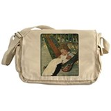 Child in Hammock Messenger Bag