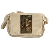 Child in a Tree Messenger Bag