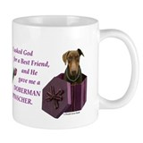 Doberman Small Mug