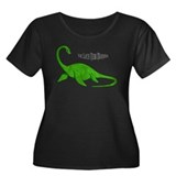Loch Ness Monster Women's Plus Size Scoop Neck Dar