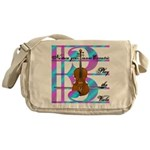 Violist, viola &quot;Eccentric&quot; Messenger Bag