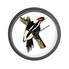 Ivory-Billed Woodpecker Wall Clock