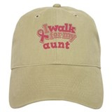 Breast Cancer Aunt Walk Cap
