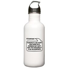 Accountant Bubble 1 Water Bottle