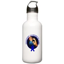 Kickin' Colon Cancer's Ass Water Bottle