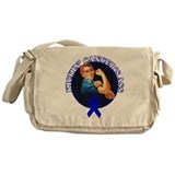 Kickin' Colon Cancer's Ass Messenger Bag