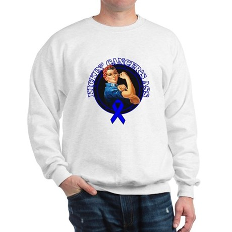 Kickin' Colon Cancer's Ass Sweatshirt