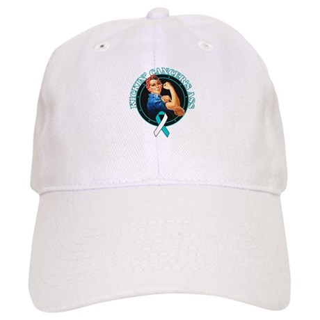 Kickin Cervical Cancer's Ass Cap