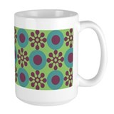 Retro Flower Power Mug