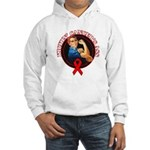 Kickin' Blood Cancer's Ass Hooded Sweatshirt