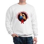 Kickin' Blood Cancer's Ass Sweatshirt