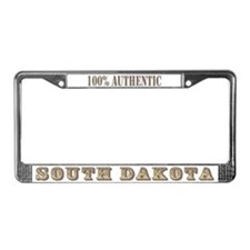 South Dakota 100% Authentic License Plate Frame