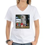 God's Challenge Women's V-Neck T-Shirt