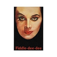 Fiddle-Dee-Dee Fridge Magnet