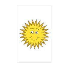 Happy Sun in Summer Decal