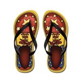 Clown Shoes Flip Flops