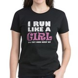 'I Run Like a Girl' Tee