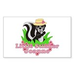 Little Stinker Joanne Sticker (Rectangle 10 pk)