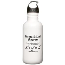 Fermat's Last Theorem Water Bottle