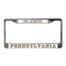 Pennsylvania 100% Authentic License Plate Frame