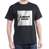 DJIBOUTI ROCKS Black T-Shirt