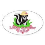 Little Stinker Julie Sticker (Oval 10 pk)