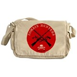 """Zombie Hunters Local 187"" Messenger Bag"