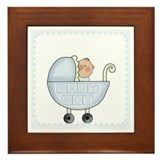 Baby Boy Keepsake Framed Tile