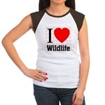 Wildlife Women's Cap Sleeve T-Shirt