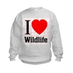 Wildlife Kids Sweatshirt