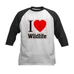 Wildlife Kids Baseball Jersey