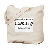 HIdden Disability - Tote Bag