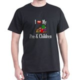 I Love My Pre-K Kids Camisetas