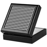 HOUNDSTOOTH Keepsake Box