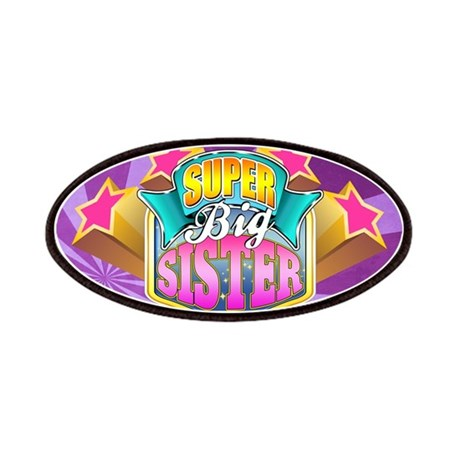 Pink Super Big Sister Patches