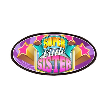Pink Super Little Sister Patches