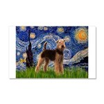 Starry Night - Airedale #6 Car Magnet 20 x 12