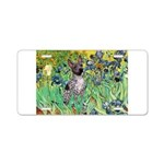 Irises-Am.Hairless T Aluminum License Plate