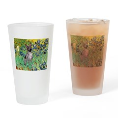 Irises-Am.Hairless T Drinking Glass
