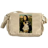 MonaLisa-AnatolianShep2 Messenger Bag