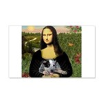 MonaLisa-AussieCattle Pup 20x12 Wall Decal