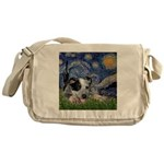 Starry-AussieCattleDogPup Messenger Bag