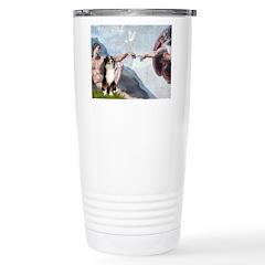 Creation - Australian Shep2 Ceramic Travel Mug