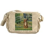 Bridge-Aussie Shep (#5) Messenger Bag