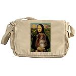 MonaLisa-AussieShep #4 Messenger Bag
