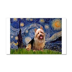 Starry-AussieTerrier Car Magnet 20 x 12