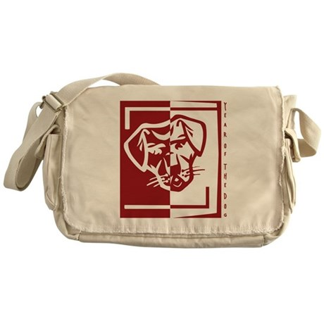 Year of the Dog Messenger Bag