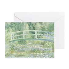 MONET Water Lily Pond 1897 Greeting Cards (10 Pk)